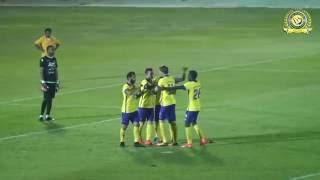 أهداف النصر في المباراة الودية أمام الفيصلي