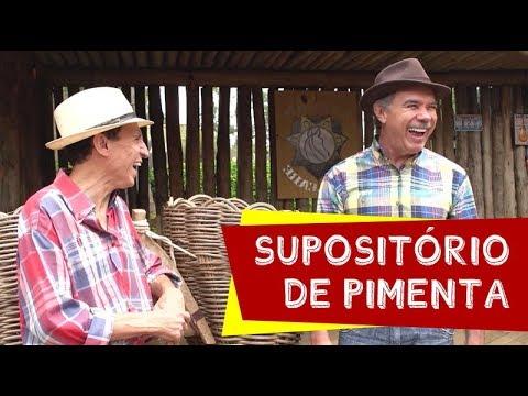 Supositório de pimenta Nilton Pinto e Tom Carvalho A Dupla do Riso