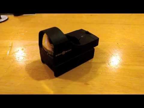SightMark Mini Shot Red Reflex Sight Unboxing HD