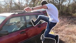 Can You Break a Car Window By Kicking It?