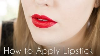 How to Apply Lipstick Tutorial // Back to Basics Makeup Tutorials // Rebecca Shores MUA