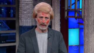 Jon Stewart as Donald Trump on The Late Show