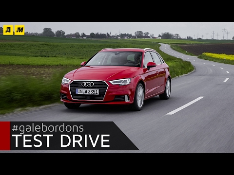 Audi A3 Sportback   Test drive #AMboxing [ENGLISH SUB]