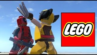 DEADPOOL VS WOLVERINE - LEGO Marvel Super heroes