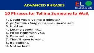 500 Real english phrases ( Advanced) for Communication