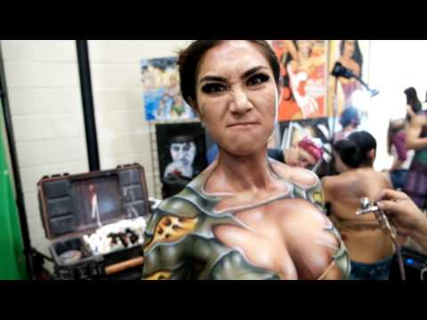 Xxx Mp4 Body Painting At Alamo City Comic Con 3gp Sex