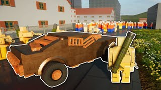 CITY OVERRUN BY ZOMBIES!  - Brick Rigs Multiplayer Gameplay - City Airport Update!