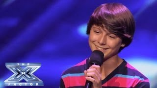 "Stone Martin - Little Guy Rocks ""Little Things"" - THE X FACTOR USA 2013"