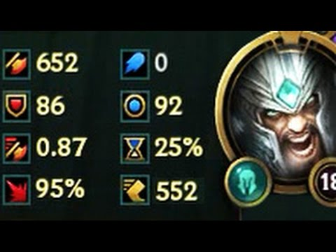 1350+ DMG TRYNDAMERE & Best Moments!