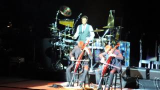 2Cellos- You Shook Me All Night Long (AC/DC cover), Perth Arena, Perth, Australia, 10.11.2012