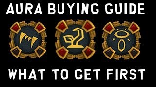 Aura Buying Guide - Which Auras to Get First! [Runescape 2014]