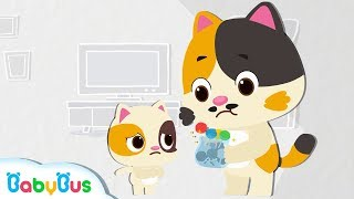 Baby Kitten Wanna Candy | Color Song for Kids | Preparation for Kindergarten | BabyBus