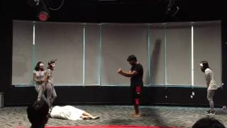 Oedipus The King final scene by Team One M.
