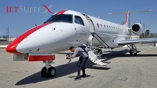 JetSuiteX ERJ-135 Empty Coachella Charter Return (TRM-BUR)