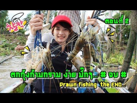 ตกกุ้งก้ามกราม ง่ายมากๆ Easy prawn fishing ตอนที่2 by MAYME fishingEZ