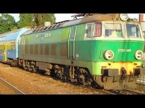 Passenger trains Pociągi osobowe w Koninie ET22 EU07