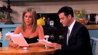 ابطال مسلسل فريندز معا في مشهد في برنامج جيمي كيميل
