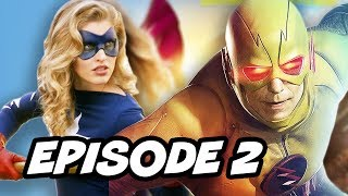 Legends Of Tomorrow Season 2 Episode 2 Justice Society TOP 10 WTF and Easter Eggs