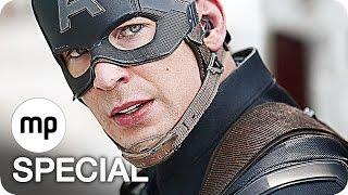 CAPTAIN AMERICA 3 CIVIL WAR Trailer, Clips & Featurettes German Deutsch (2016)