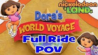 Dora The Explorer Nickelodeon Land World Voyage Blackpool Pleasure Beach