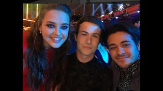13 Reasons Why Characters - Behind the Scenes (Random,Funny and Sweet Moments)