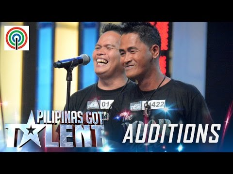 Pilipinas Got Talent Season 5 Auditions Poor Voice Male Singing Duo