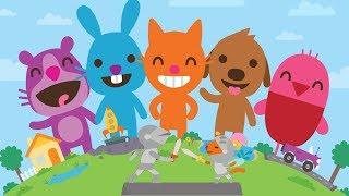 Fun Sago Mini Kids Cartoon Games - Fun Play Pet Care, Trucks and Diggers Games - Sago Mini Preschool