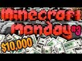 Minecraft Monday $10000 YouTuber Tournament #3