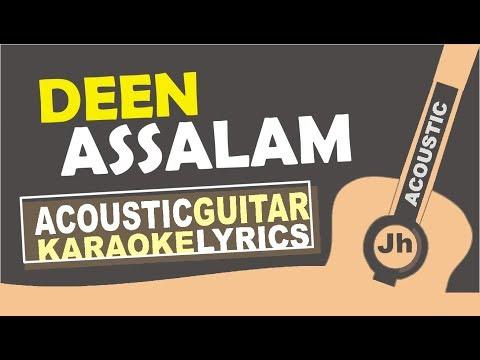 Nisa Sabyan - Deen Assalam (Karaoke Acoustic Cover)
