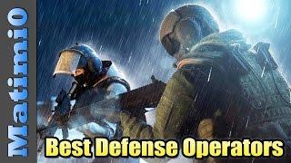 Best & Worst Defensive Operators - Rainbow Six Siege