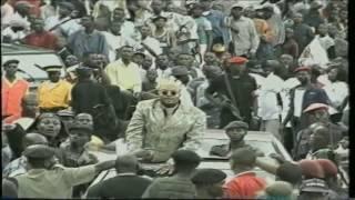 L'entrée de JB Mpiana au Stade des Martyrs (1999)