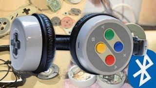 DIY Bluetooth SNES Headphones : Rated-E Mods