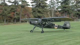 Fieseler Storch take-off
