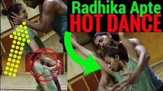 RADHIKA APTE'S HOT DANCE REHEARSAL WITH TERENCE LEWIS. HINDI