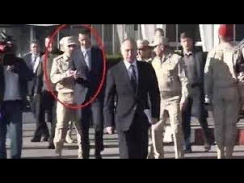 Xxx Mp4 ضابط روسي يهين بشار الأسد أمام بوتين فيديو مهين هكذا منع بشار الأسد من السير بجانب بوتين 3gp Sex