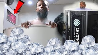 Lebron James LIQUID NITROGEN CHAMBER -250 Degrees FREEZE Challenge!!