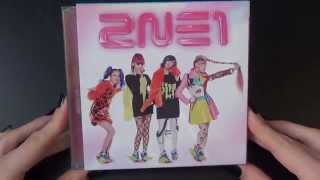 Unboxing 2NE1 1st Japanese Single Go Away [Type A (CD+DVD) Edition]