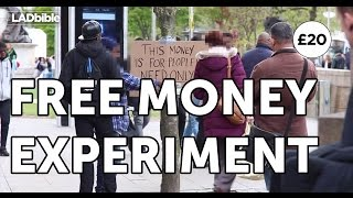 Free Money Experiment #2 | The LAD bible
