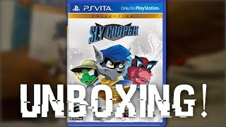 SLY Cooper Collection (PS-VITA) Game Unboxing - [HÐ]