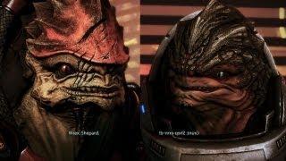 Mass Effect 3 - Wrex...Grunt...CoMManDerr ShePArrrd...(Citadel DLC)