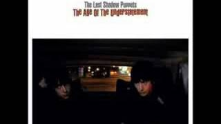 The Last Shadow Puppets - black plant
