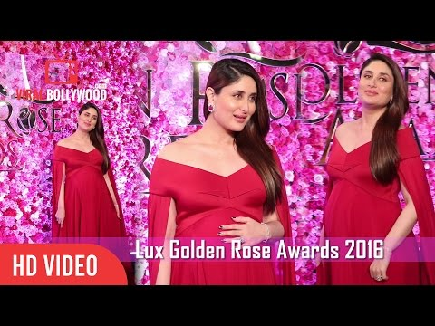 Kareena Kapoor At Lux Golden Rose Awards 2016 | Viralbollywood