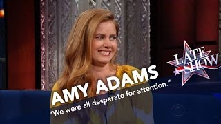 Amy Adams Learned A Lot Growing Up With Six Siblings