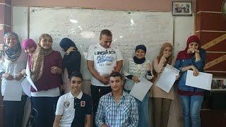 تكريم أستاذ حاتم مرسى للطلبة المتفوقين عن العام الدراسى 2014-2015
