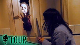 The Shining Maze | Halloween Horror Nights | Meeting Jack Nicholson?!