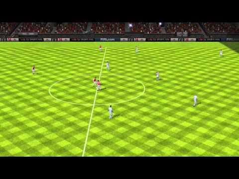 FIFA 14 Android ayy ahmed VS Estudiantes