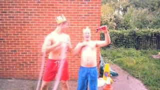 Gaz and Fieldys Ice Bucket Challenge!