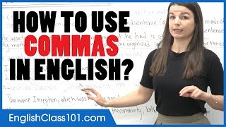 How to Use Commas in English | Punctuation Guide - Learn English Grammar