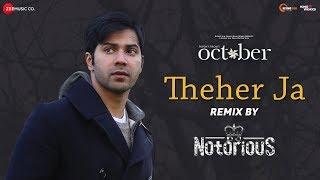 Theher Ja - Remix | DJ Notorious | October | Varun Dhawan & Banita Sandhu