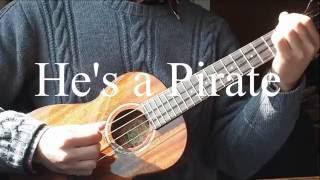 (Pirates Of Caribean)He's a Pirate~fingerstyle(ukulele)——by Qianqian Mei